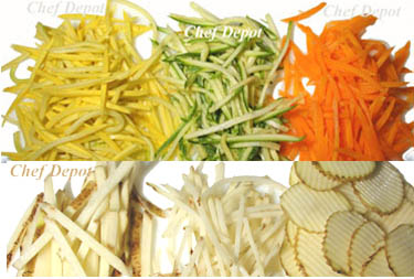 How to Julienne and Slice Cut Vegetables with a Mandoline
