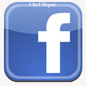 Add Chef Depot as a friend on your Facebook Page