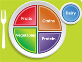 What's on your plate? New Food Pyramid