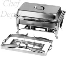 Heavy Duty Folding Stainless Steel Chafer
