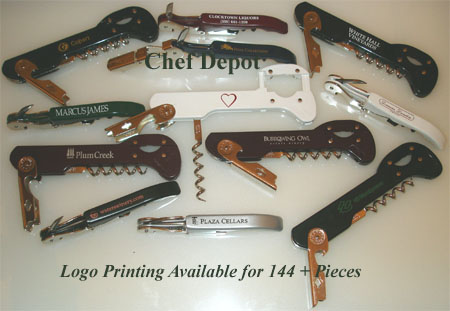 Wedding and Comapny and Corporate Wine Openers