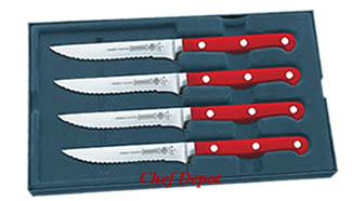 Mundial Red Steak Set
