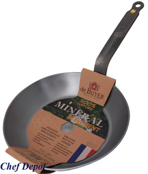 Heavy Duty Steel Frying Pan