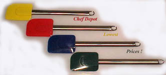 Receive a FREE High Heat Colored Spatula with purchase of $99.00 or more of Kyocera Products