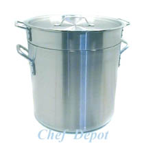 Heavy Duty Commercial Stainless Steel Double Boiler Pot with lid