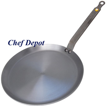 Heavy Duty Steel Crepe Pans
