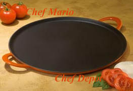 cast iron Pizza Pan & Griddle