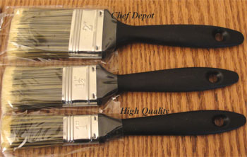 Pastry and Art Painting and Basting BBQ Brushes