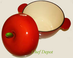 cast iron Apple Baker