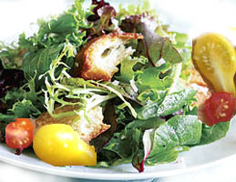 Mixed Baby Greens With Strawberries - 25 Pts Recipes — Dishmaps