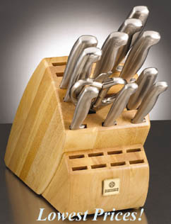 Mundial 12 Pc. Future Knife Block Set