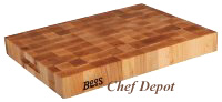 Square Maple End Grain Chop Blocks