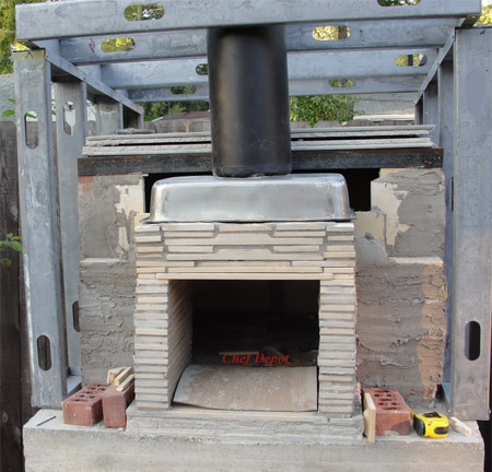 Your new DIY Brick wood fired oven can be eco friendly