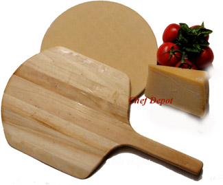 Pizza Stone & Pizza Peel Set