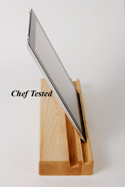 I-Pad Holder and Cutting Board