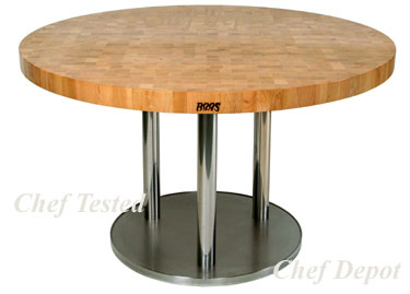 Metro 3 Pedestal Table
