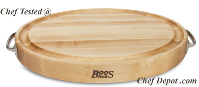 John Boos Maple Oval Board