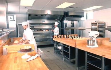 We design and outfit cooking schools or culinary arts program