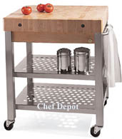 Cucina Technica Cart 2 Shelves