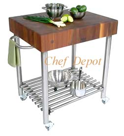 Walnut Damico Cart