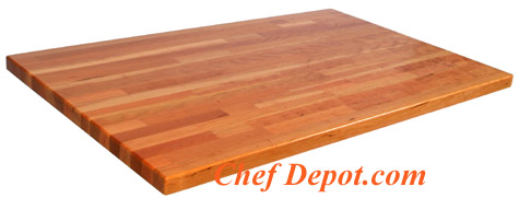 Edge grain blended Cherry Wood Counter Top