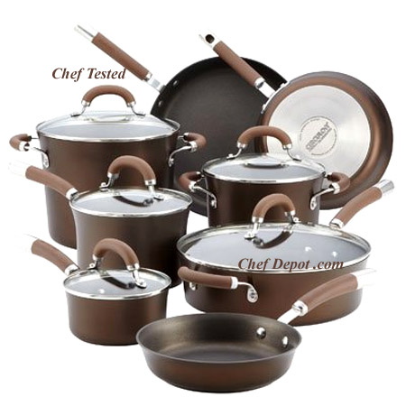 Circulon Chocolate Premier Professional Hard Anodized Cookware