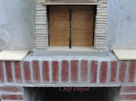 wood oven kit