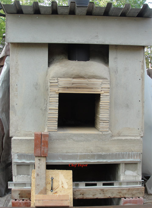 diy wood fired oven kits