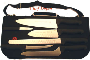 Soft Grip Chef Knife Set