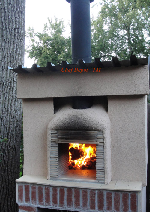 outdoor wood burning pizza oven diy home decor laux us