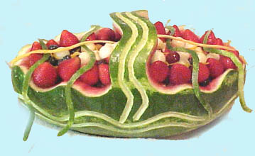 Simple Watermelon Basket