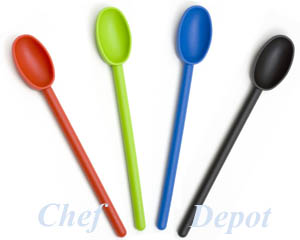 Colored Poly Cooking Spoons
