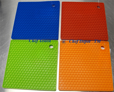 High Heat Silicone Trivets