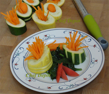 vegetable side dish garnishing tips for restaurants