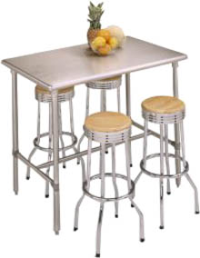 Cucina Classico Stainless Steel Table
