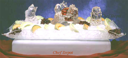 Ice Carving and Ice Sculpture display tray