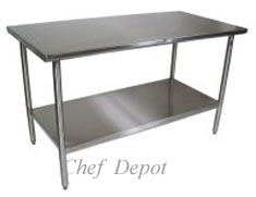 This Commercial Quality Stainless Steel Table is made in USA