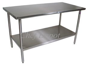 Cucina Tavolo Stainless Steel Table