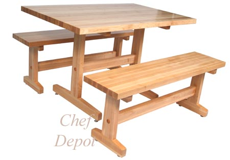 American Made Trestle Table