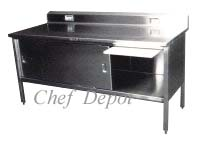 180-4 Stainless Steel Table