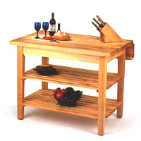 Kitchen Island Bar Table