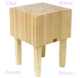 16 in. Thick Rock Maple Butcher Block