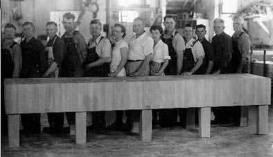 The Largest Butcher Block in Existance, by John Boos