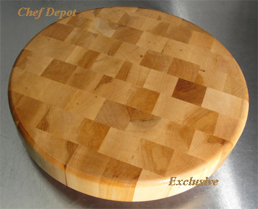 Maple Lazy Susan Chopping Block