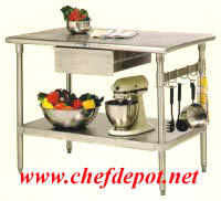 Forte Stainless Steel Table