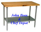 The Highest Quality Tables - John Boos - Made in the USA! Chef Depot gives you the Fastest Delivery & Lowest Prices!