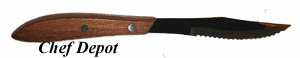 Wood Handle Steak Knife - picture may vary from actual steak knives