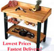John Boos Tables Proudly Made in the USA - Lowest Prices & Fastest Delivery only at Chef Depot!