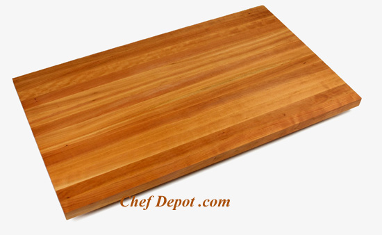 Edge grain solid Cherry Wood Counter Top