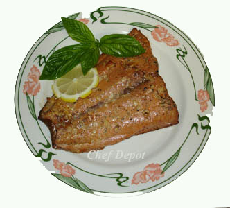 Smoked Alaska Red Salmon - Click Here for great filet knives!